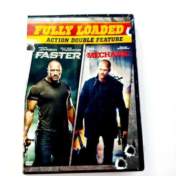 Sony Other - Fully Loaded Action Double Feature Faster and The